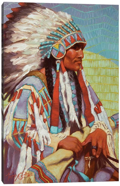 Glory Days Canvas Art Print