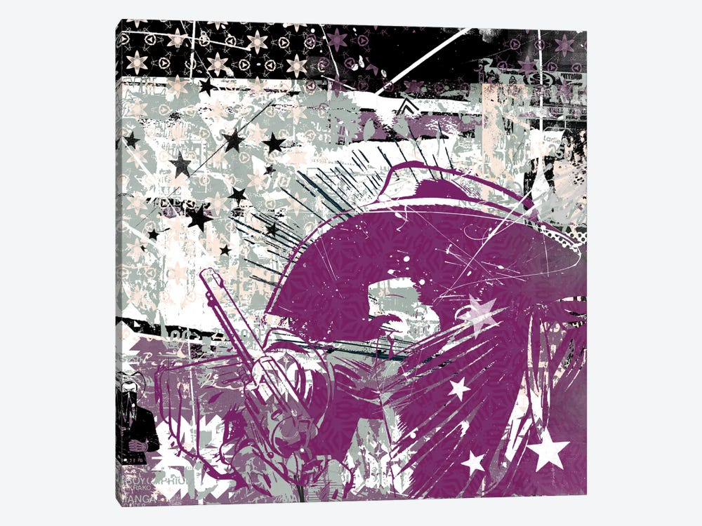 Cowboy Stars by Teis Albers 1-piece Canvas Art