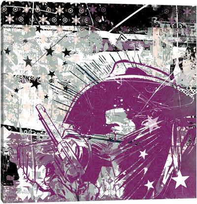 Cowboy Stars Canvas Art Print