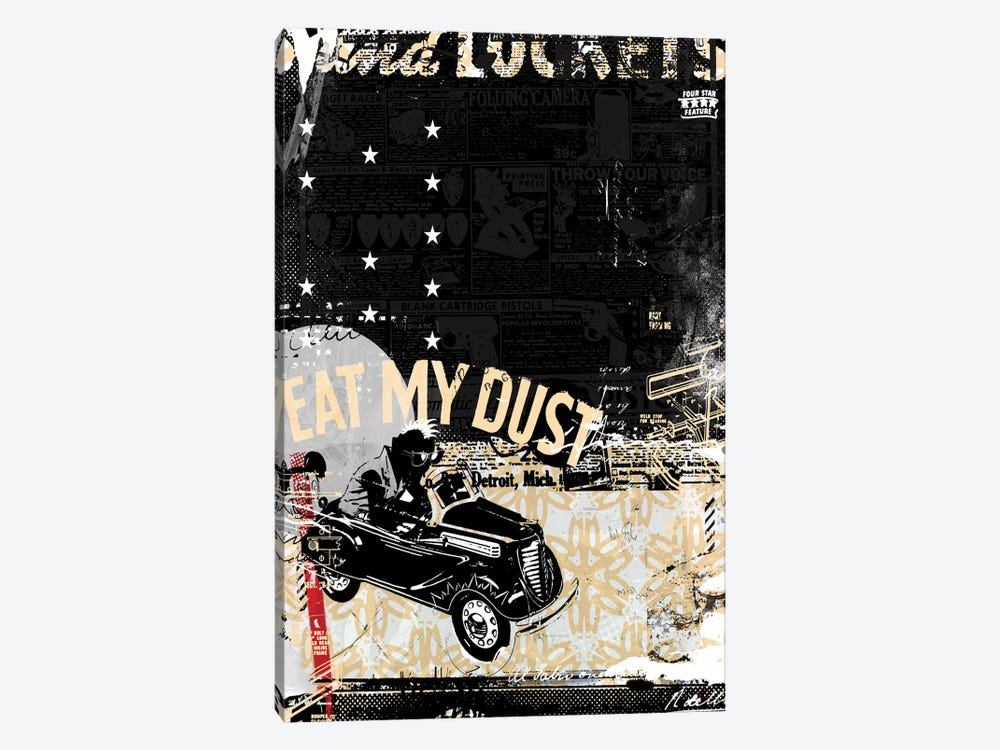 Eat My Dust by Teis Albers 1-piece Canvas Wall Art