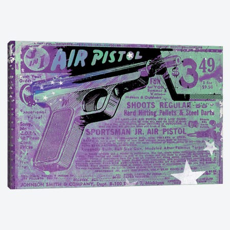 Air Pistol Canvas Print #TEI1} by Teis Albers Art Print
