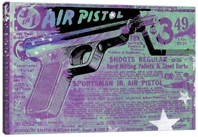 Air Pistol Canvas Art Print