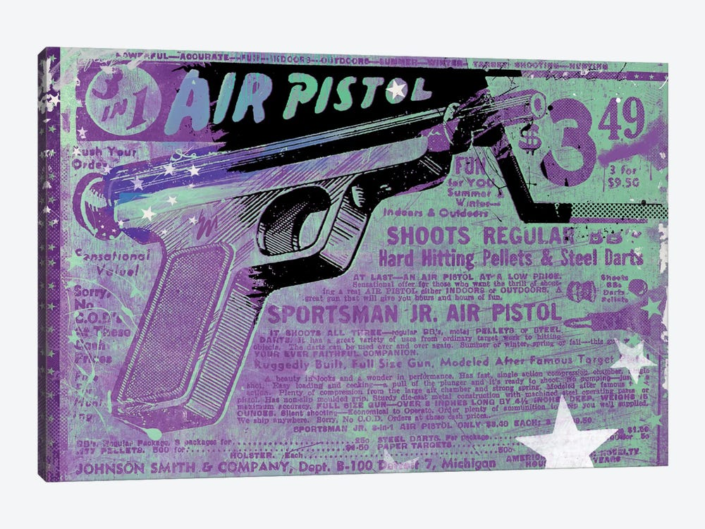 Air Pistol by Teis Albers 1-piece Canvas Print
