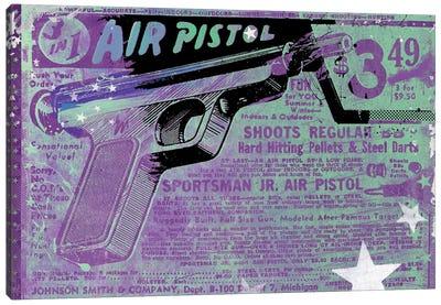 Air Pistol Canvas Art Print