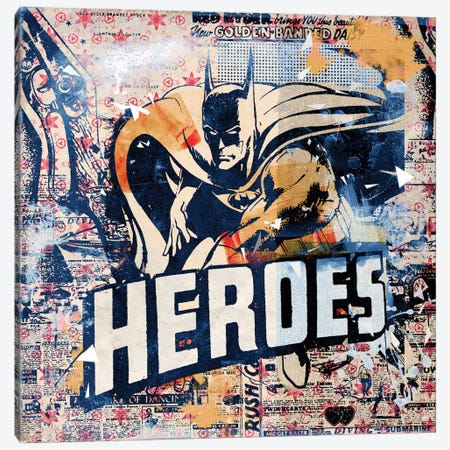 Heroes Canvas Print #TEI24} by Teis Albers Art Print