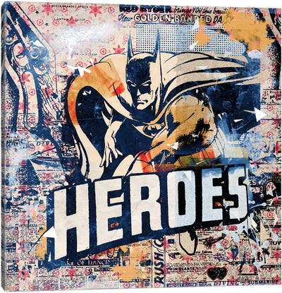 Heroes Canvas Art Print