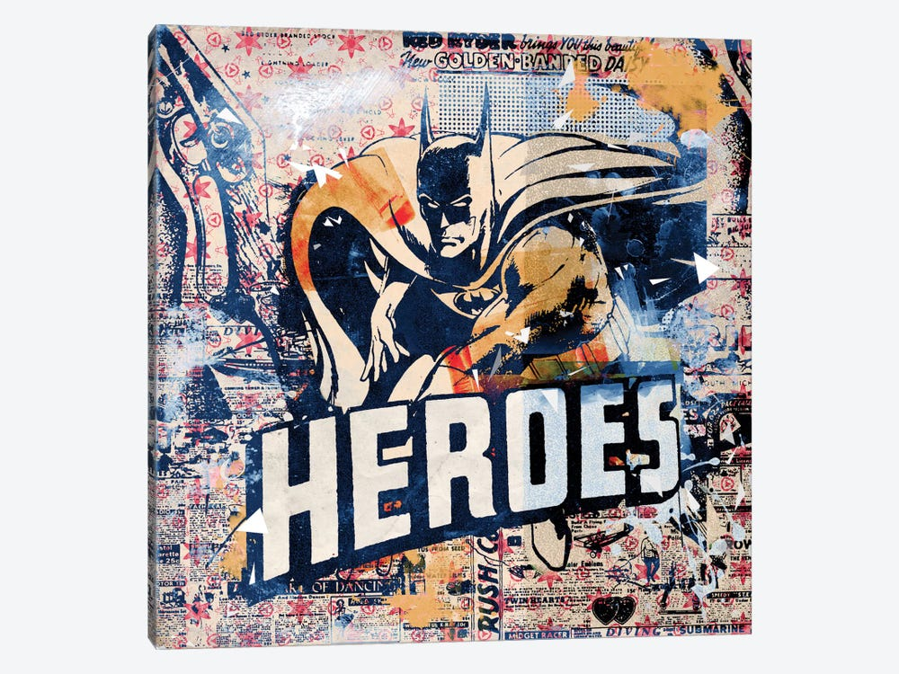 Heroes by Teis Albers 1-piece Canvas Wall Art