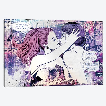 In Love (Pink) Canvas Print #TEI25} by Teis Albers Canvas Art Print