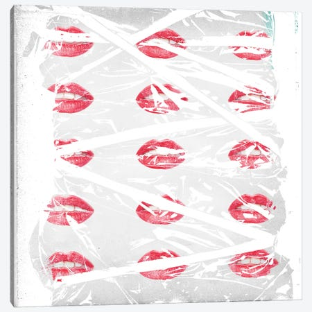 Lips Canvas Print #TEI27} by Teis Albers Art Print