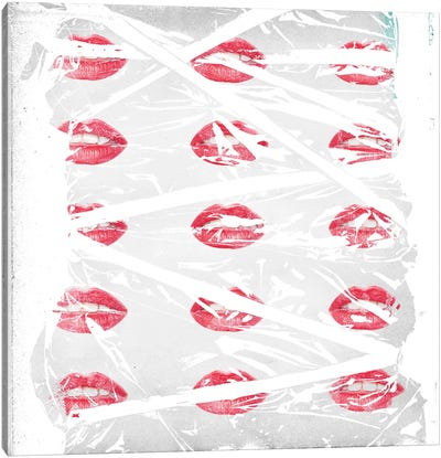Lips Canvas Art Print