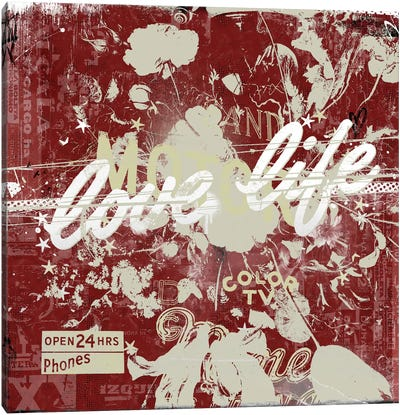 Love Life Canvas Art Print