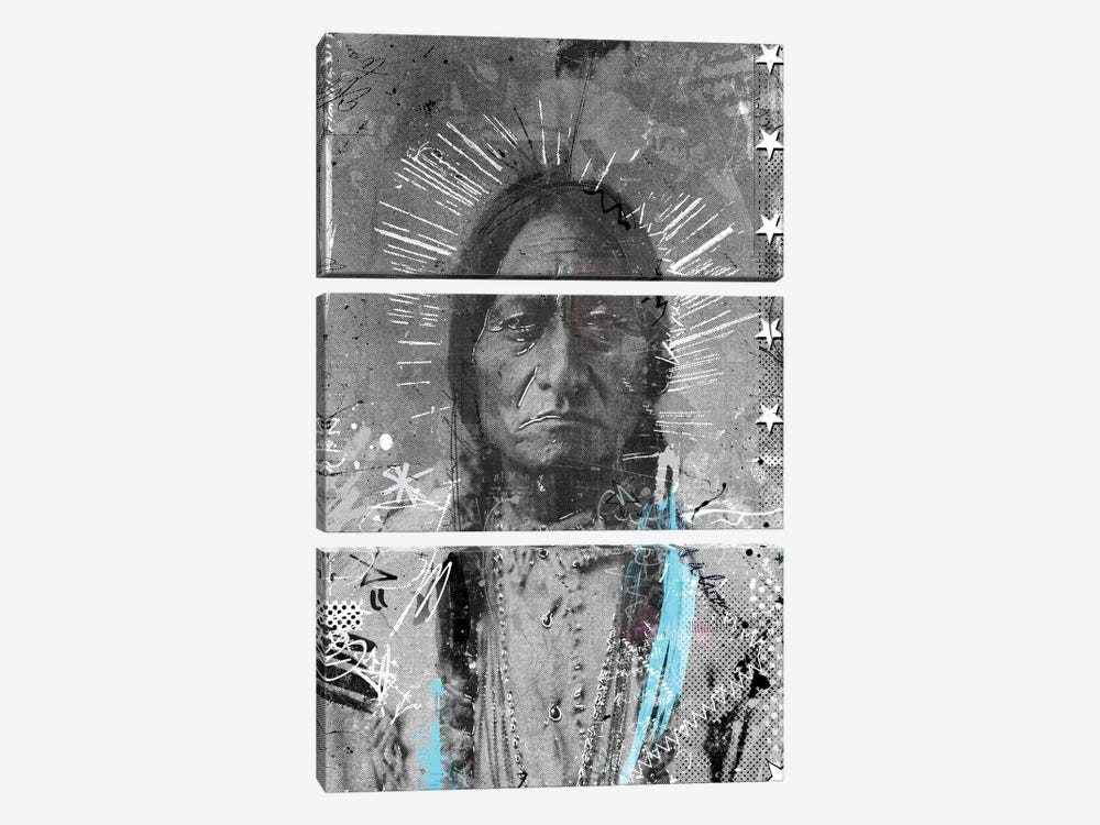 Navajo 3-piece Canvas Art Print