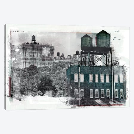 NY Canvas Print #TEI30} by Teis Albers Canvas Print