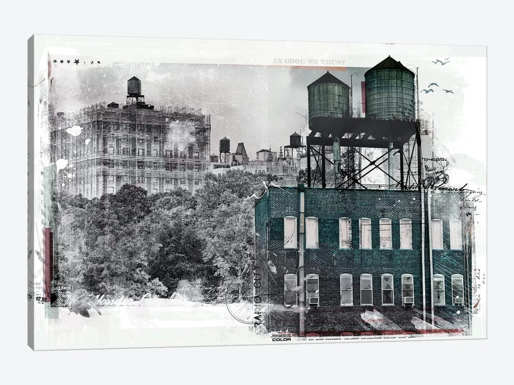 NY by Teis Albers 1-piece Art Print