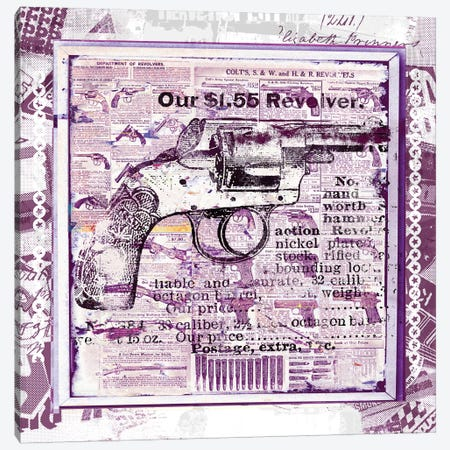 Our $1.55 Revolver Canvas Print #TEI31} by Teis Albers Canvas Print