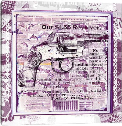 Our $1.55 Revolver Canvas Art Print