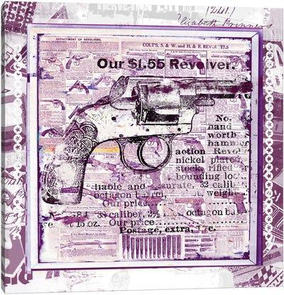 Our $1.55 Revolver Canvas Print #TEI31