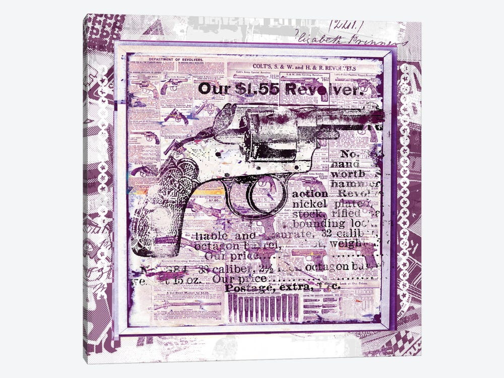 Our $1.55 Revolver by Teis Albers 1-piece Canvas Wall Art