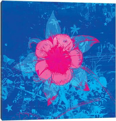 Scuba Flower Canvas Print #TEI35