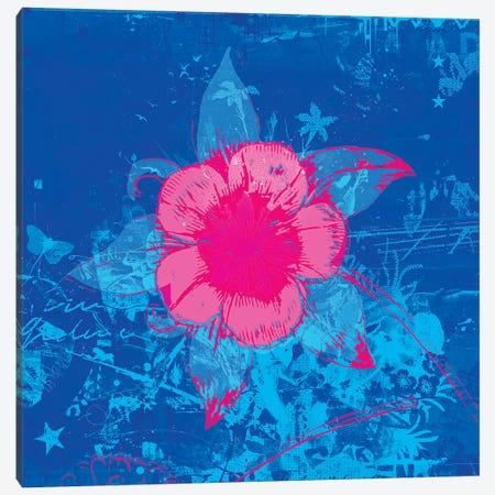 Scuba Flower Canvas Print #TEI35} by Teis Albers Canvas Wall Art