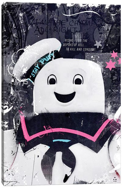 Staypuft Canvas Art Print