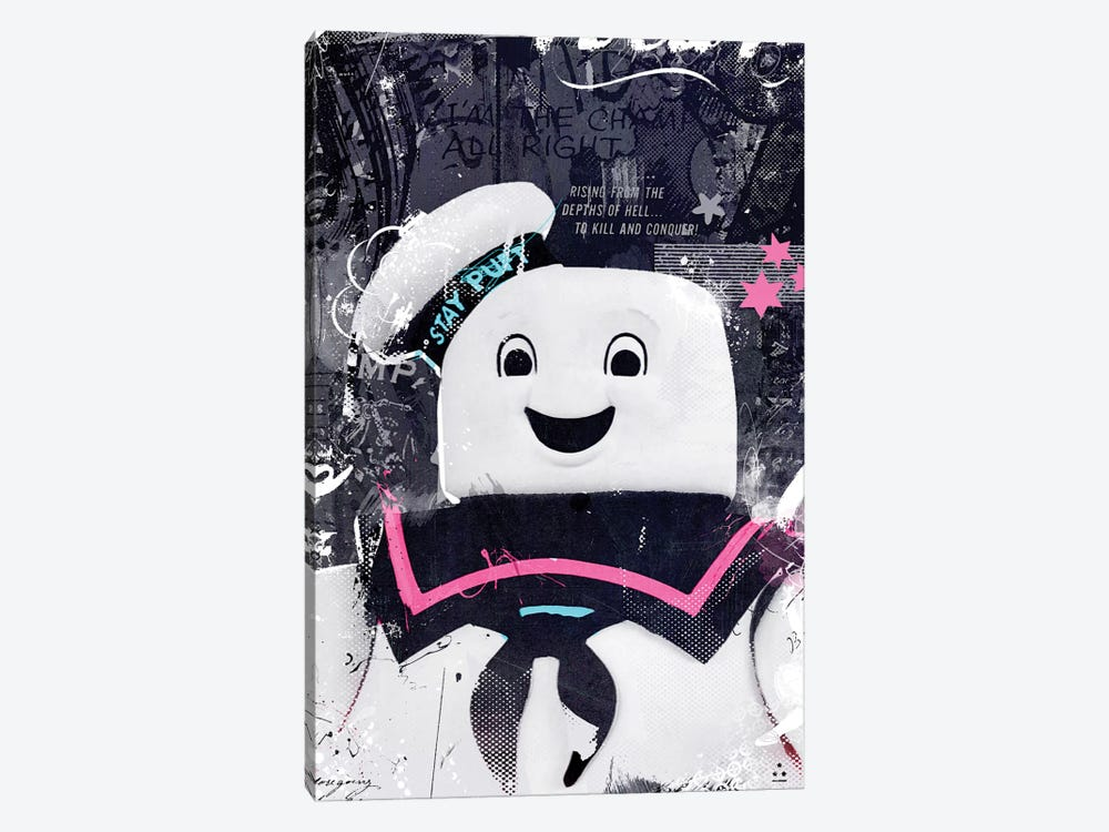 Staypuft by Teis Albers 1-piece Canvas Art