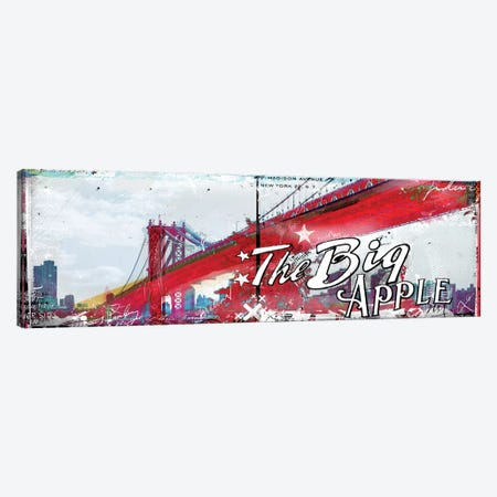 The Big Apple Canvas Print #TEI38} by Teis Albers Canvas Art Print