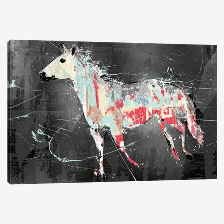 Torn Horse Canvas Print #TEI39} by Teis Albers Canvas Art Print
