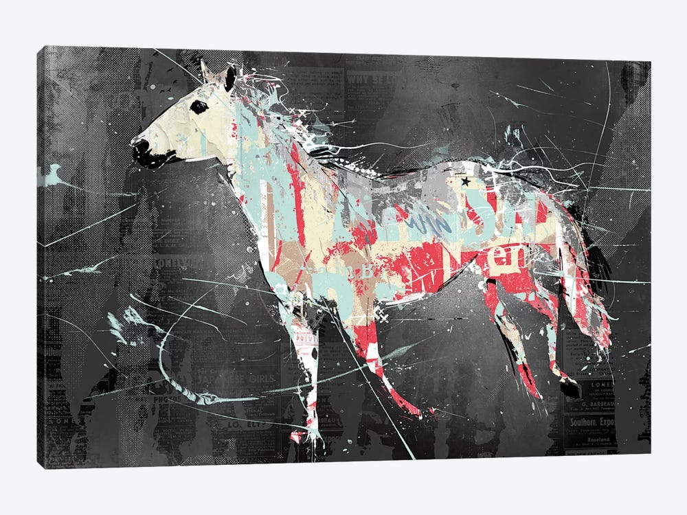 Torn Horse by Teis Albers 1-piece Canvas Artwork