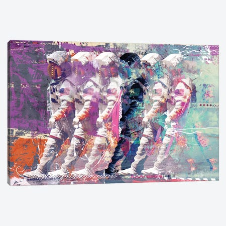 Astronauts Canvas Print #TEI3} by Teis Albers Canvas Art Print