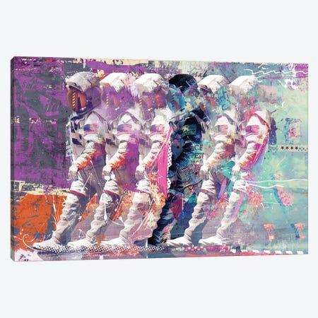 Astronauts Canvas Print #TEI3} by Teis Albers Canvas Art Print