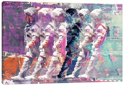 Astronauts Canvas Art Print