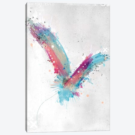 Watercolour Bird Canvas Print #TEI43} by Teis Albers Canvas Art
