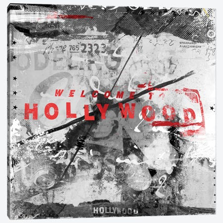 Welcome To Hollywood Canvas Print #TEI44} by Teis Albers Canvas Art Print