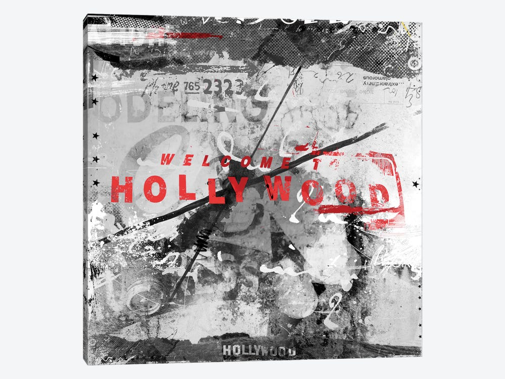 Welcome To Hollywood Canvas Wall Art by Teis Albers | iCanvas