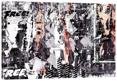 Wide Eye Canvas Art Print