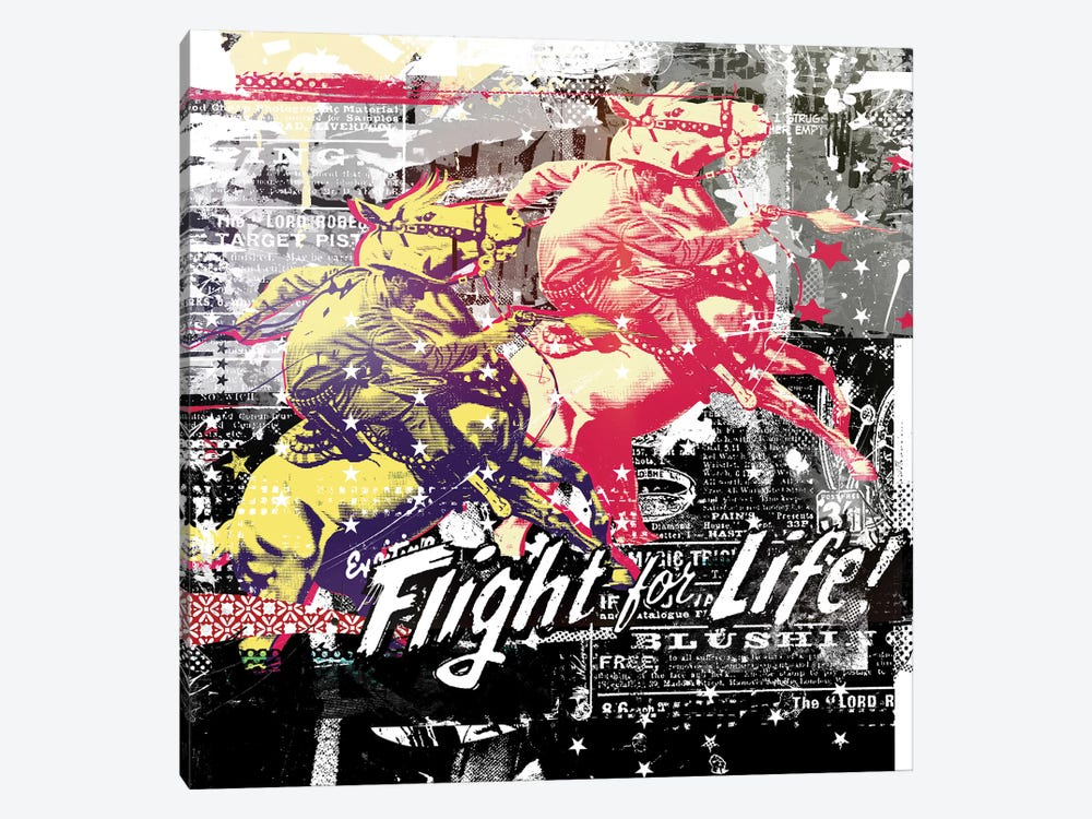 Fight For Life by Teis Albers 1-piece Canvas Artwork