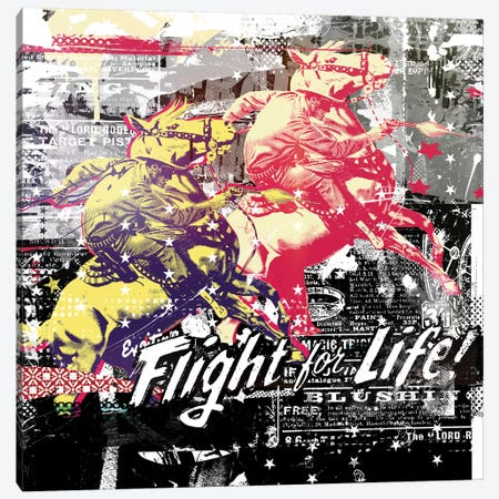 Fight For Life Canvas Print #TEI51} by Teis Albers Art Print