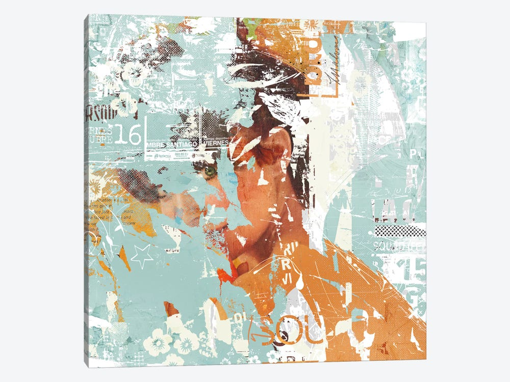 Peeking Eye by Teis Albers 1-piece Art Print