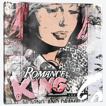 Romance King Canvas Print #TEI59} by Teis Albers Art Print
