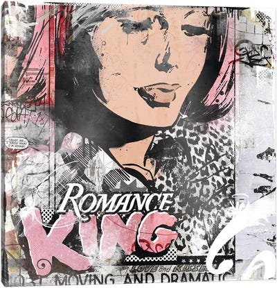 Romance King Canvas Art Print