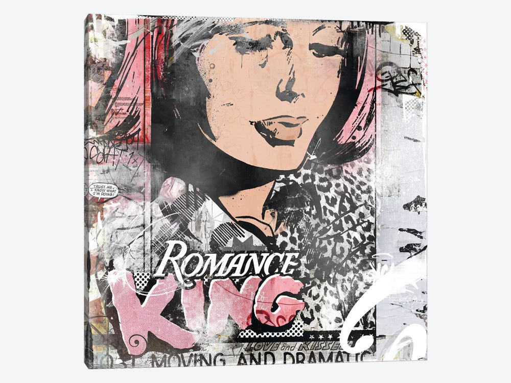 Romance King by Teis Albers 1-piece Canvas Art
