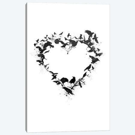 Bird Heart Canvas Print #TEI5} by Teis Albers Canvas Art