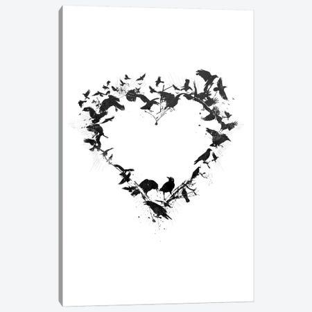 Bird Heart Canvas Print #TEI5} by Teis Albers Canvas Art