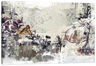 Tweeting Birds Canvas Art Print
