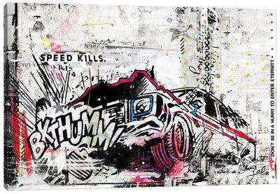 BKTHUMM! Canvas Art Print
