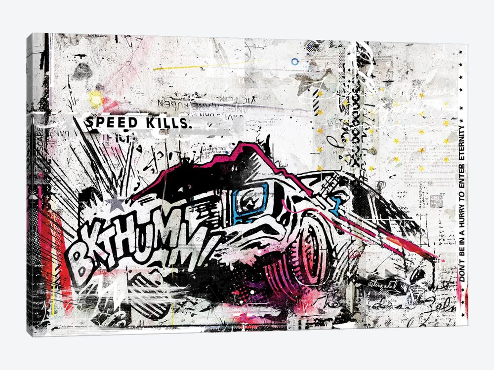 BKTHUMM! by Teis Albers 1-piece Canvas Art
