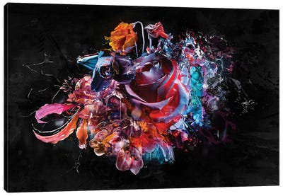 Bewerkt II Canvas Art Print