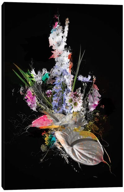 Bouquet XIV Canvas Art Print