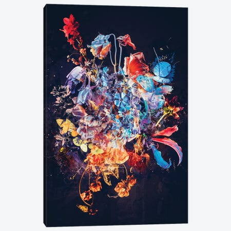 Bouquet XVII Canvas Print #TEI88} by Teis Albers Canvas Art